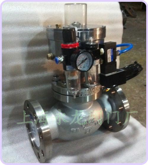 供应不锈钢氨用气动紧急切断阀